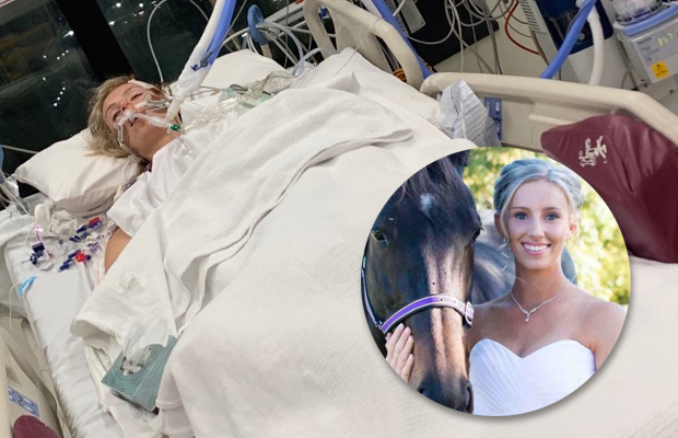 Article image for Jockey conscious but 'can't really communicate' after latest shocking fall