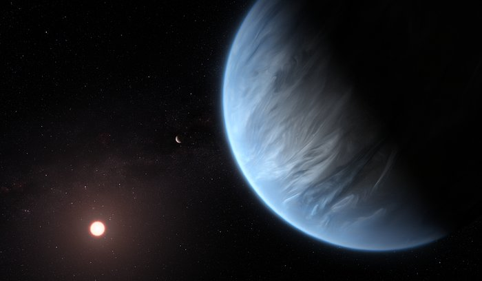 Article image for Water detected in atmosphere of planet orbiting in habitable zone