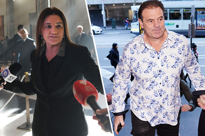 Article image for Lambie's roast: How power broker MP tried to convince union boss John Setka to resign