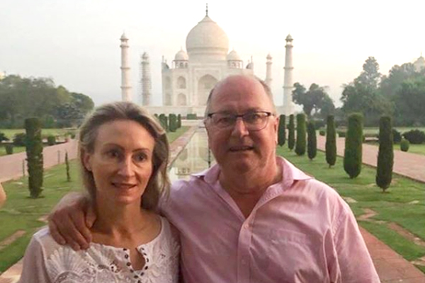 Article image for Holiday photos: Ross is in India and he's seriously loving it!
