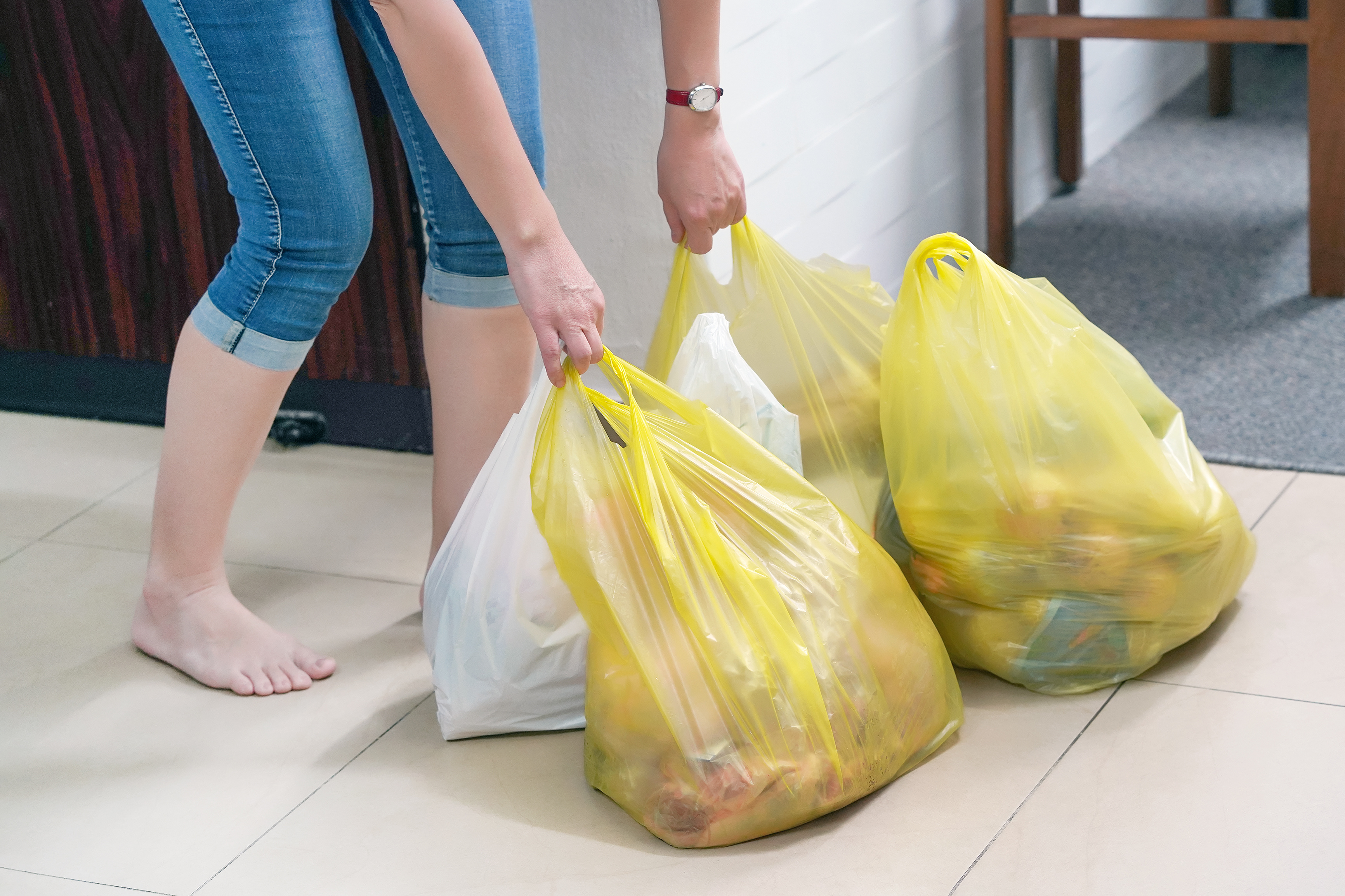 Millions of single-use plastic bags will continue to be handed out after Victorian ban