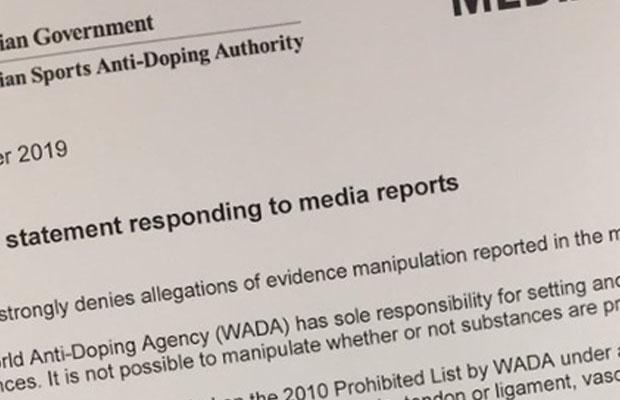 ASADA hits back at latest 'allegations' over Essendon scandal