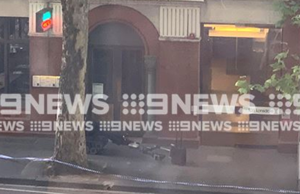 Article image for Bomb Squad called to CBD street
