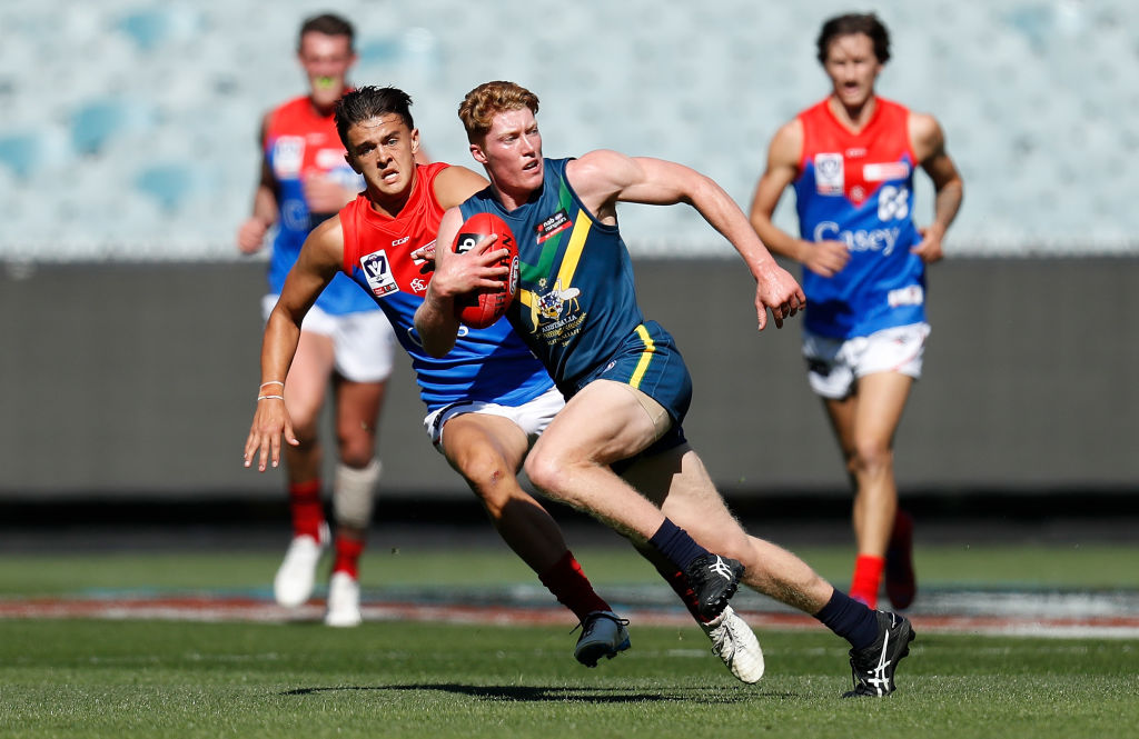 Article image for Likely No.1 draft pick Matt Rowell says it'd be 'pretty cool' to create Gold Coast history