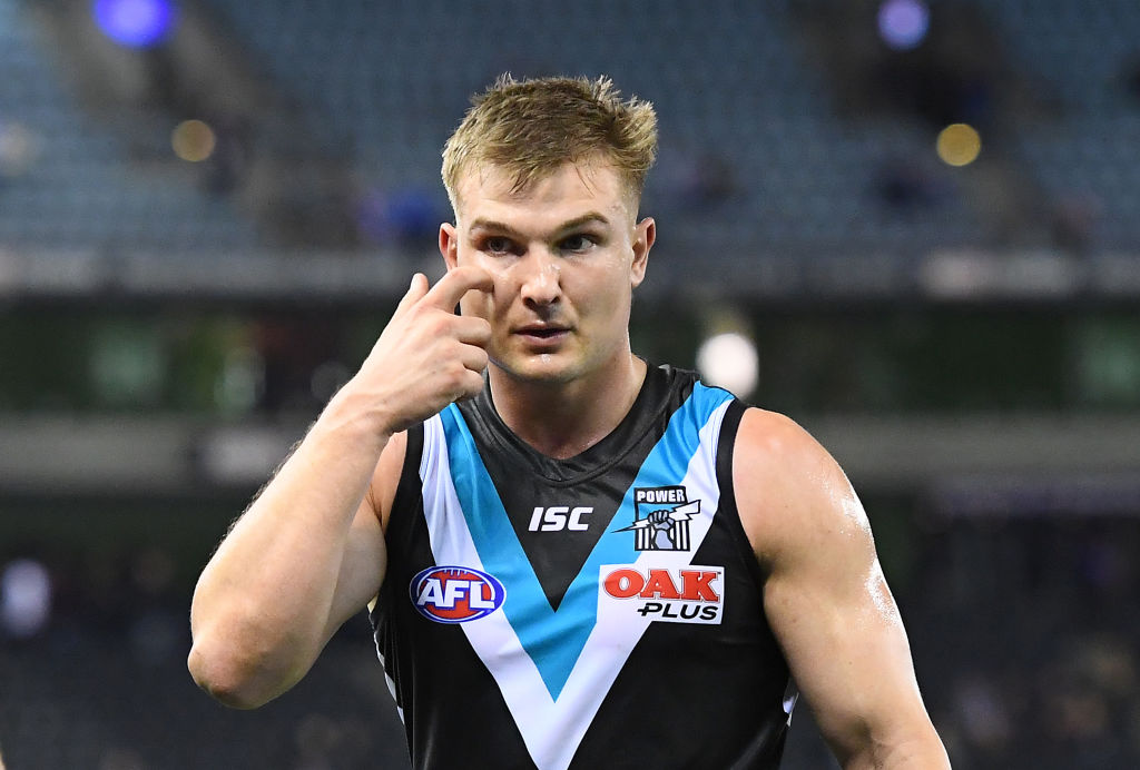 Article image for Port Adelaide releases a statement in response to Ollie Wines report