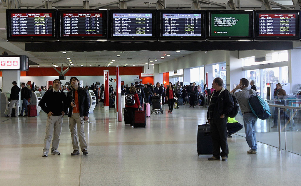 The message is clear: Melbourne Airport urges travellers not to accept rides from touts