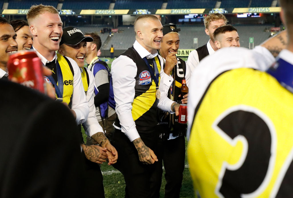 Article image for RUMOUR CONFIRMED! Dustin Martin's car is STILL parked under the MCG!