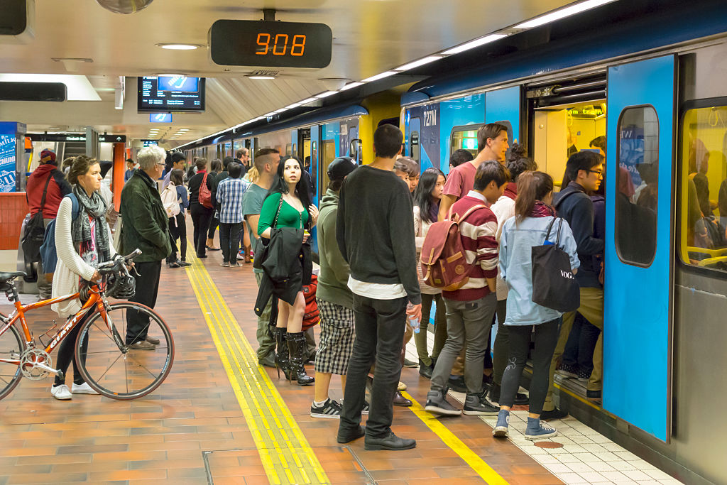 Article image for Commuters feel the squeeze as evening peak overcrowding worsens
