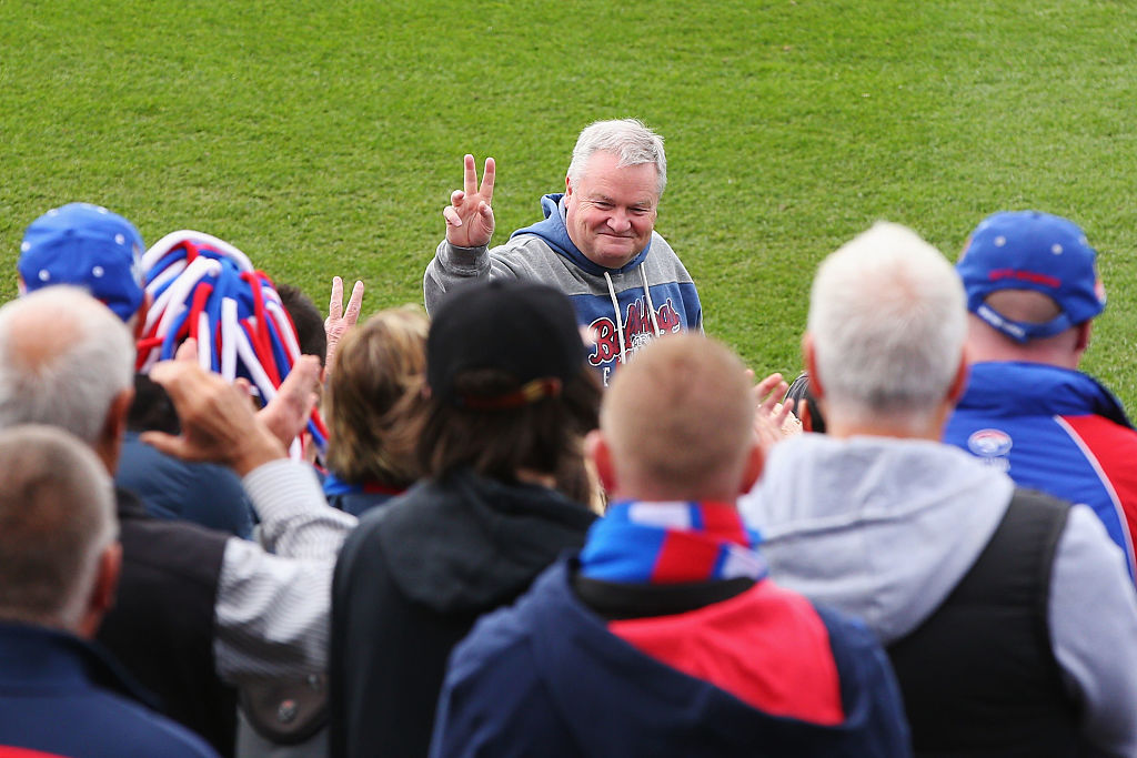 Article image for Why the Western Bulldogs won't change their name back to Footscray