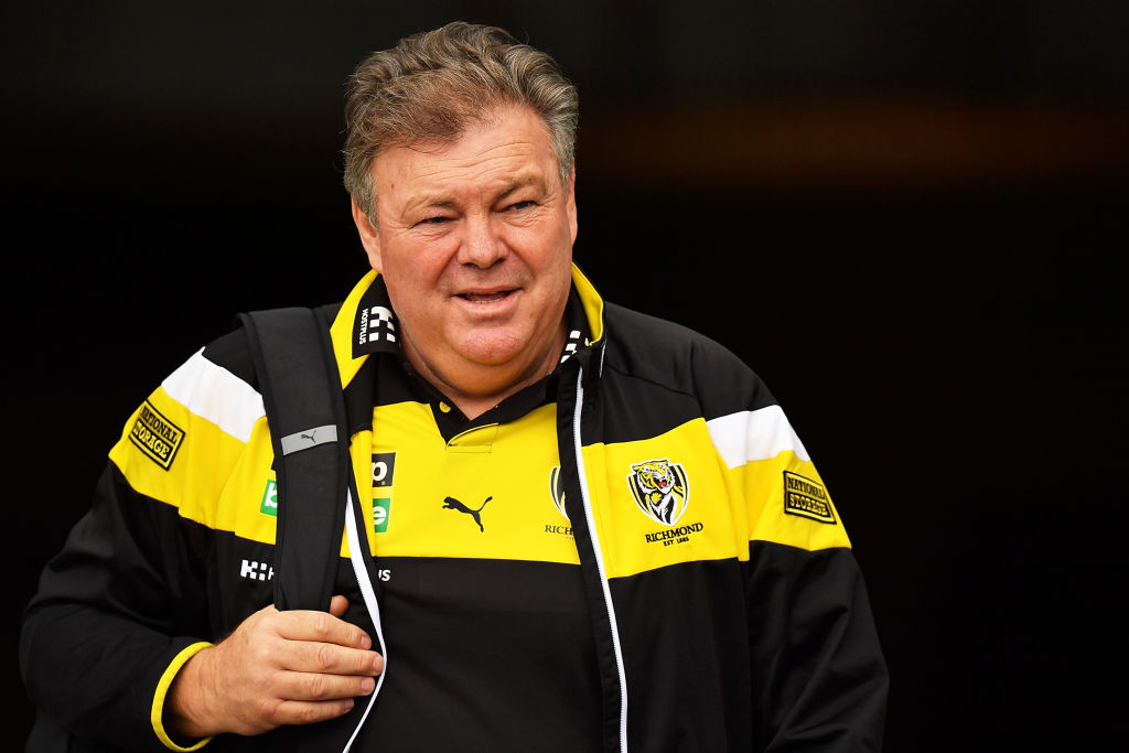Article image for Richmond footy boss says a couple of Tigers would be 'mad' not consider a fresh start