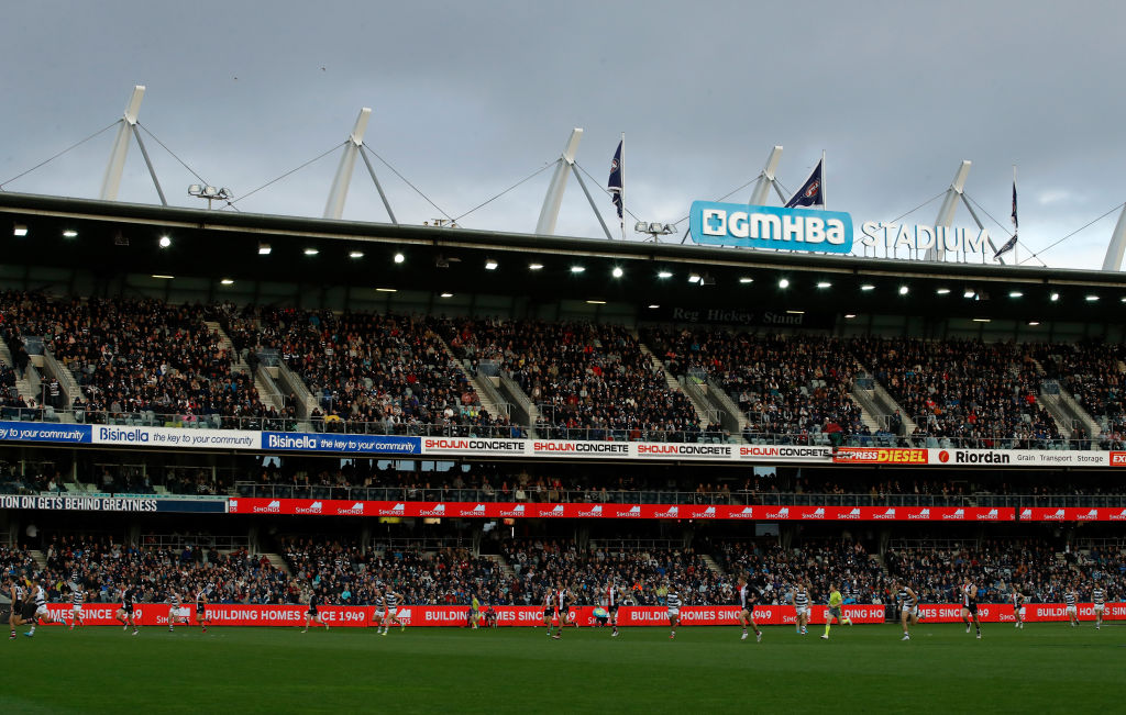 Article image for It's no danger field: Cladding taskforce co-chair tempers fears over flammable cladding at Kardinia Park