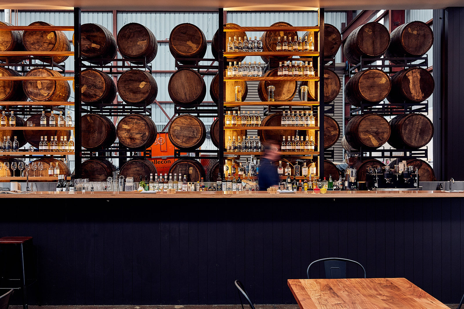 Article image for This Week in Food: Victoria's only rum distillery opens its doors + Kate tries a restaurant Ross has been raving about