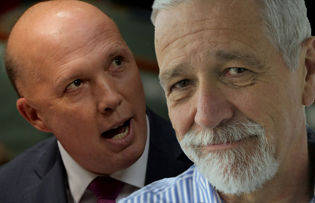 Article image for Why Neil Mitchell is standing with climate protesters against Peter Dutton
