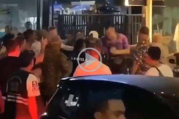 WATCH | NRL star caught on camera in Bali street fight