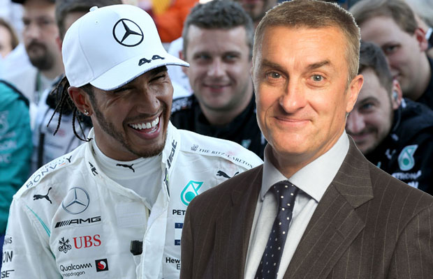 Article image for The climate change rant from Lewis Hamilton that left Tom Elliott stunned