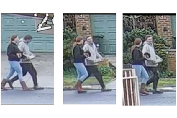 Suburban 'missile': Images released after explosive tears through home