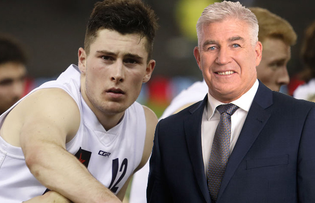 Article image for Gerard Healy is a BIG fan of this highly-rated draft prospect