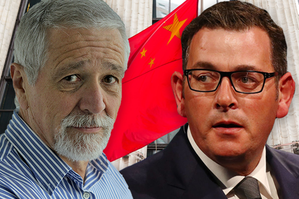 Article image for 'No ethics? No morality?': Neil Mitchell takes aim at Daniel Andrews over new China deal