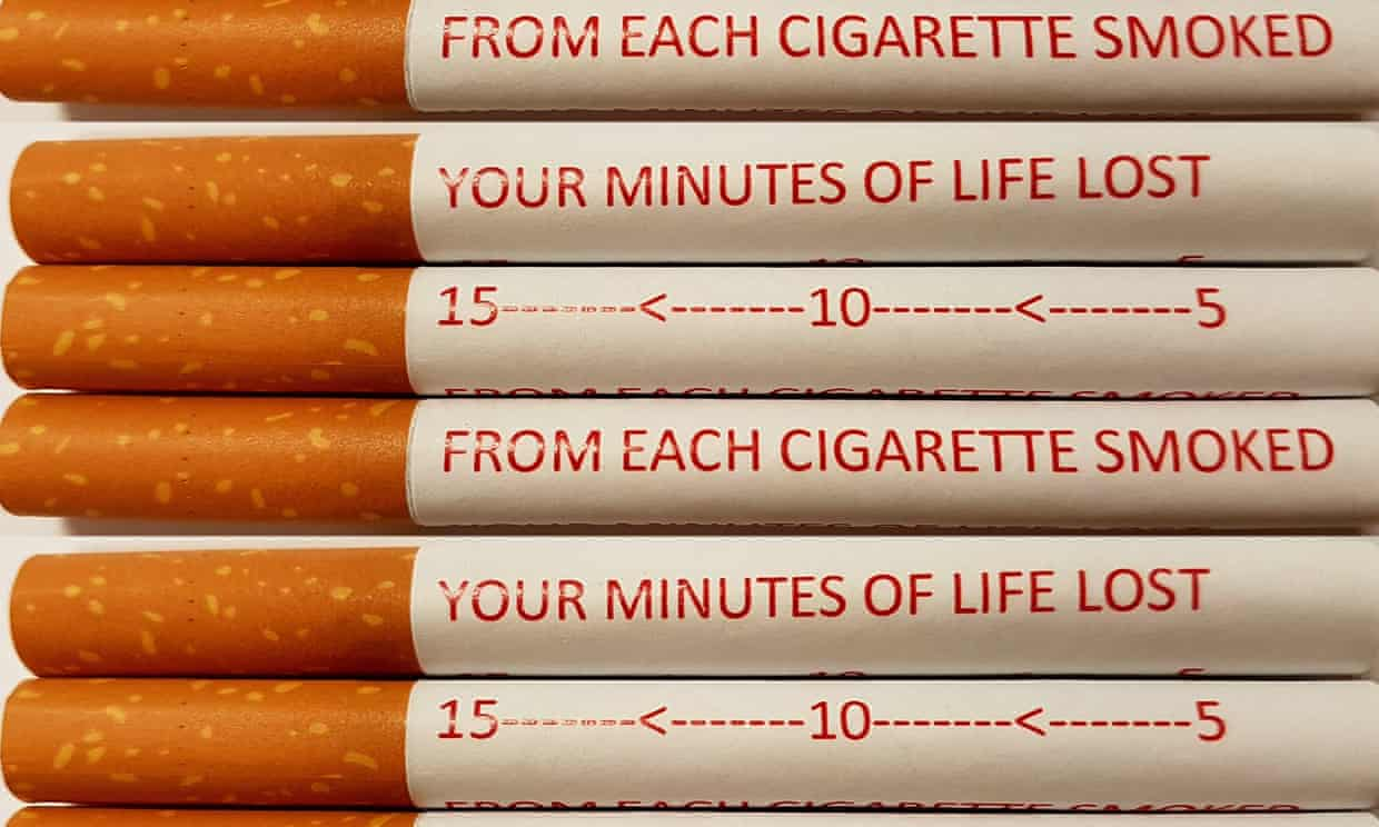 Article image for Push to put warnings on individual cigarettes to help smokers quit