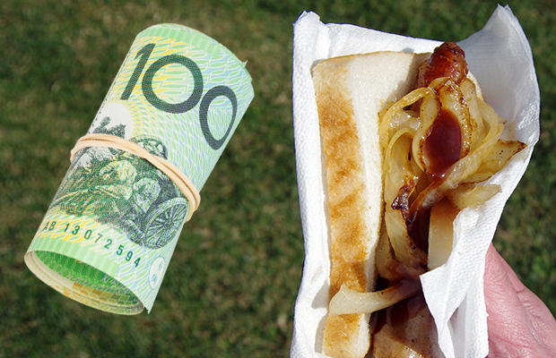 Article image for 3AW listener chips in after charity is conned at Bunnings sausage sizzle