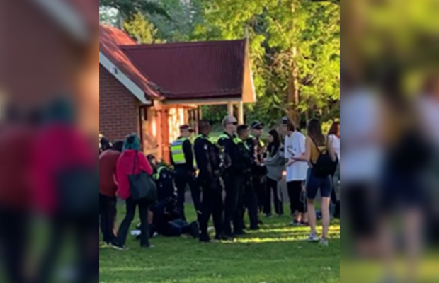 Article image for Drunken muck-up day antics end in Hawthorn arrests