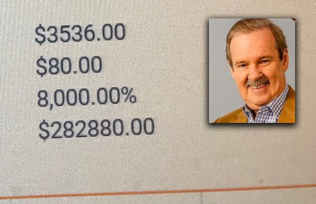 Article image for Former race caller goes PAINFULLY close to a Cup Day fill-up!
