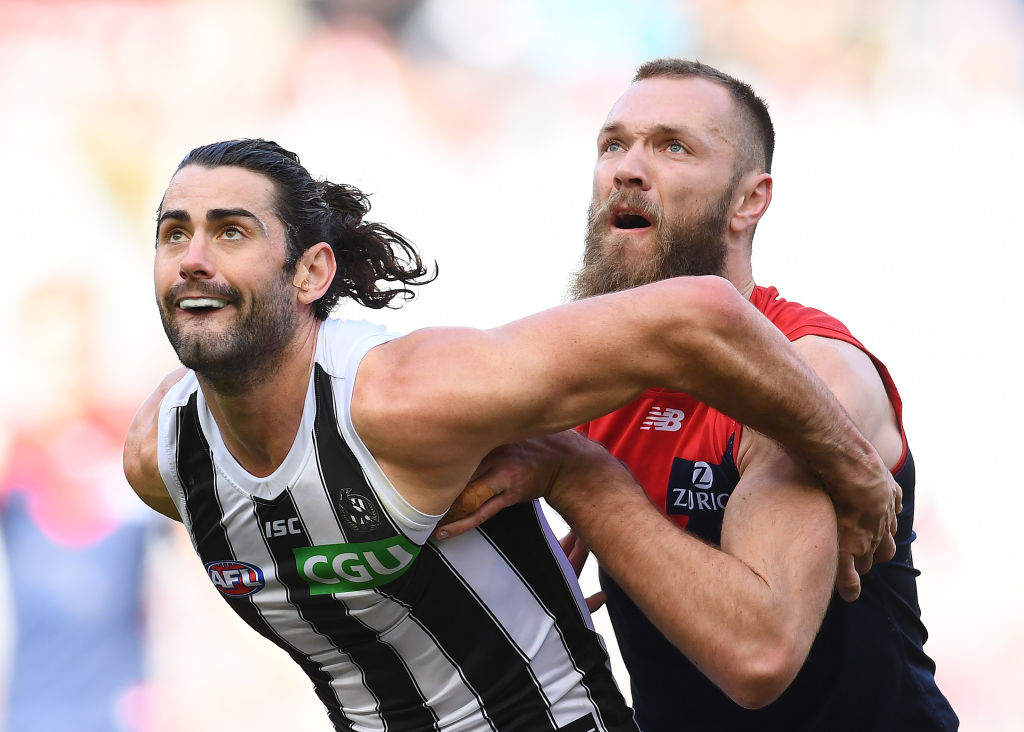 Article image for Collingwood reportedly offers mega deal to star ruckman Brodie Grundy