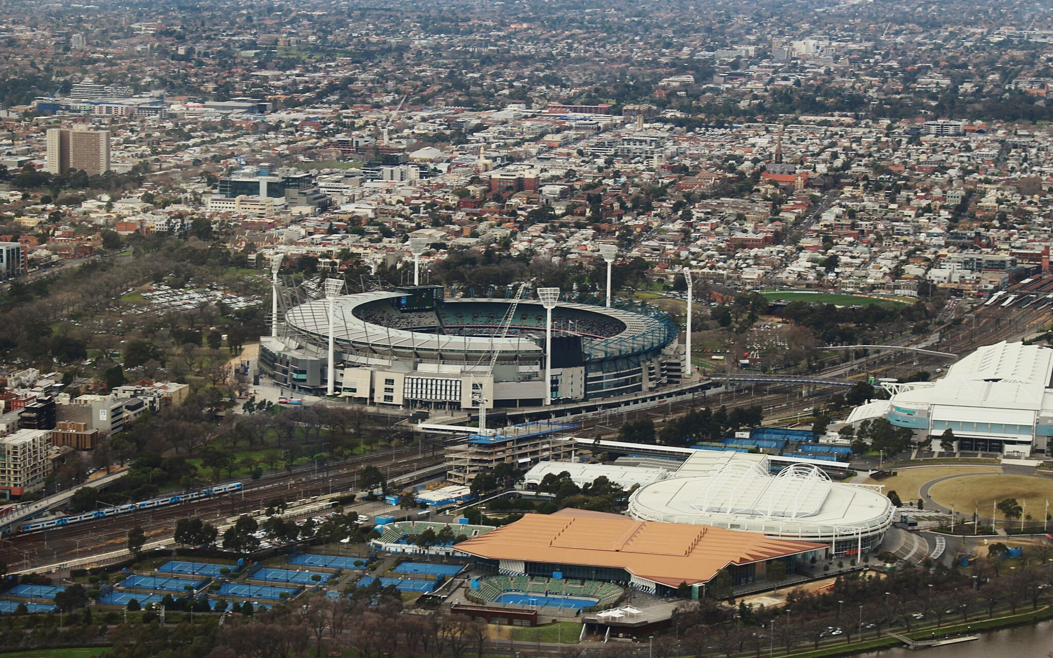Article image for 'Safe to occupy': Planning minister says MCG safe despite arson fears