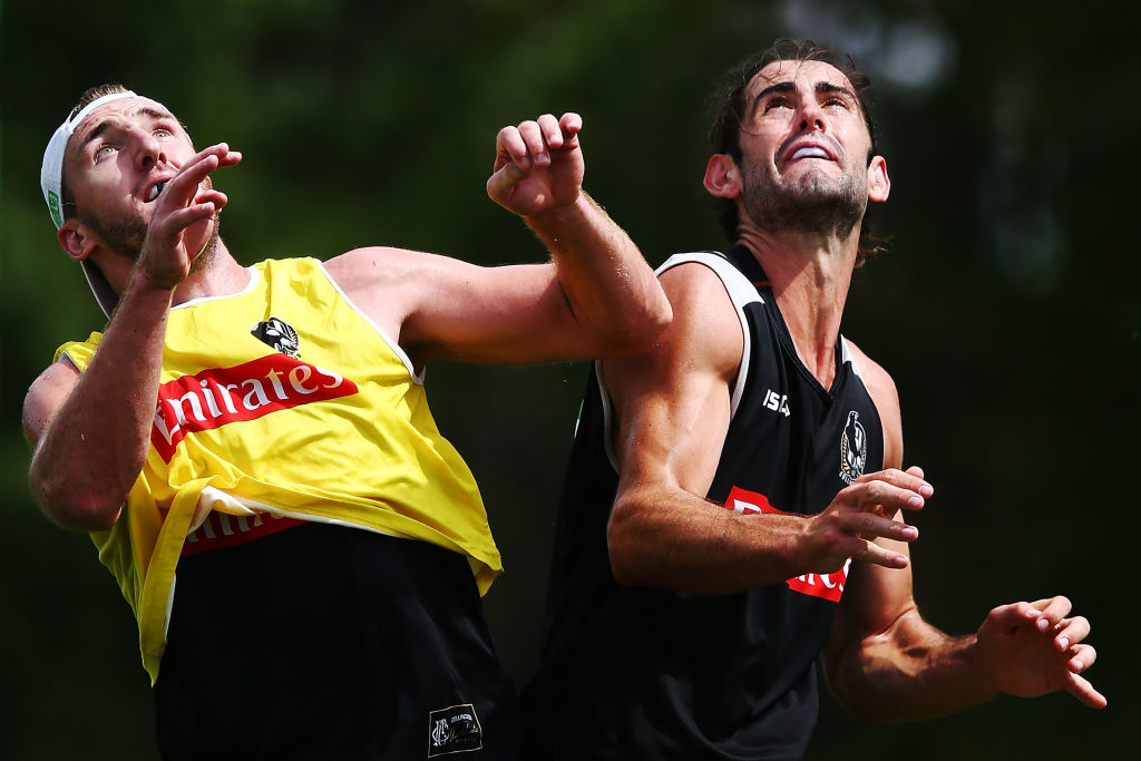 Article image for Recently delisted Magpie responds to reports of Brodie Grundy's mega deal