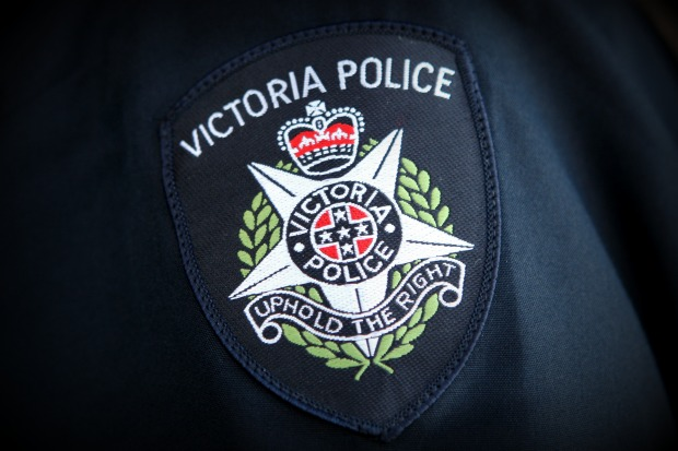 Article image for Victoria Police to investigate offensive message written on officer's body camera