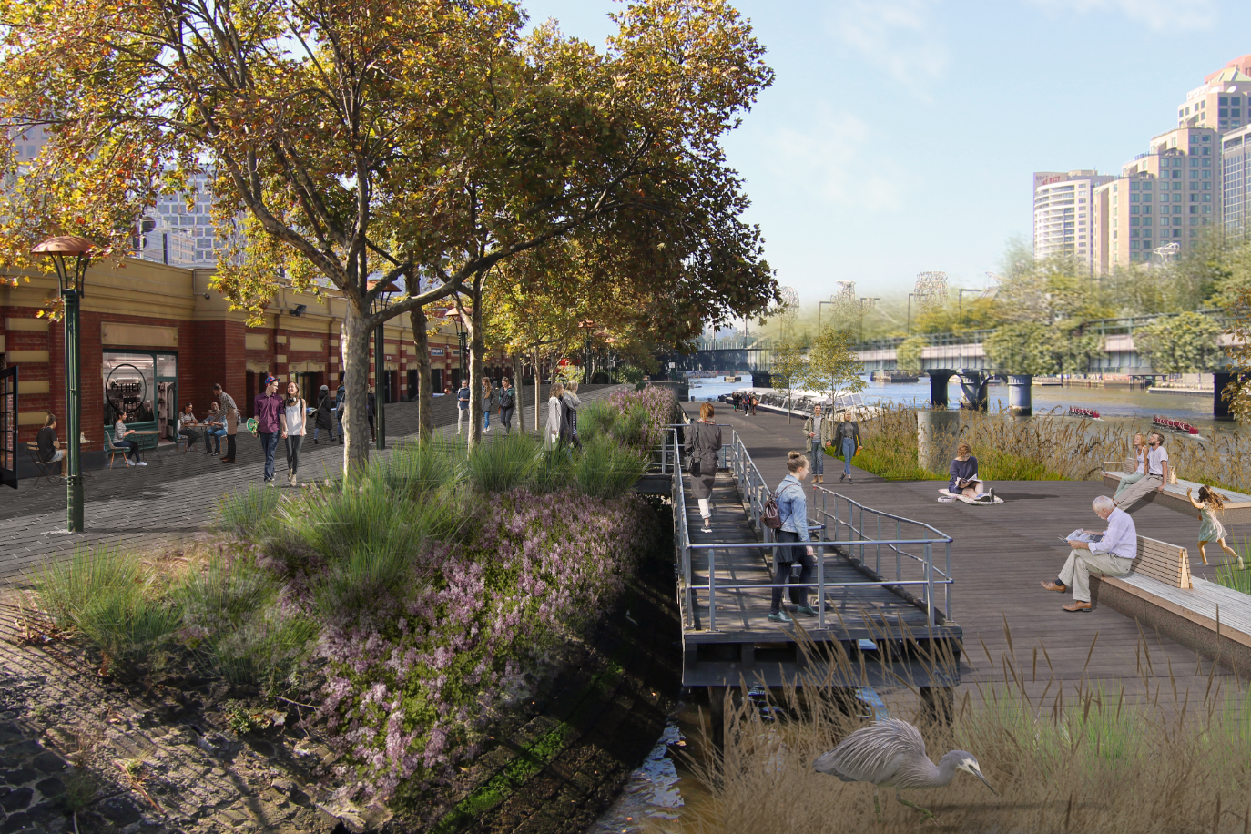 Article image for Yarra River revamp: Bold plan to transform Banana Alley and neglected north bank