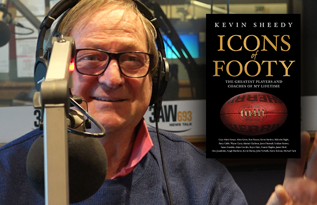 Article image for Kevin Sheedy explains what makes an 'icon' of footy (and shares some hilarious stories!)