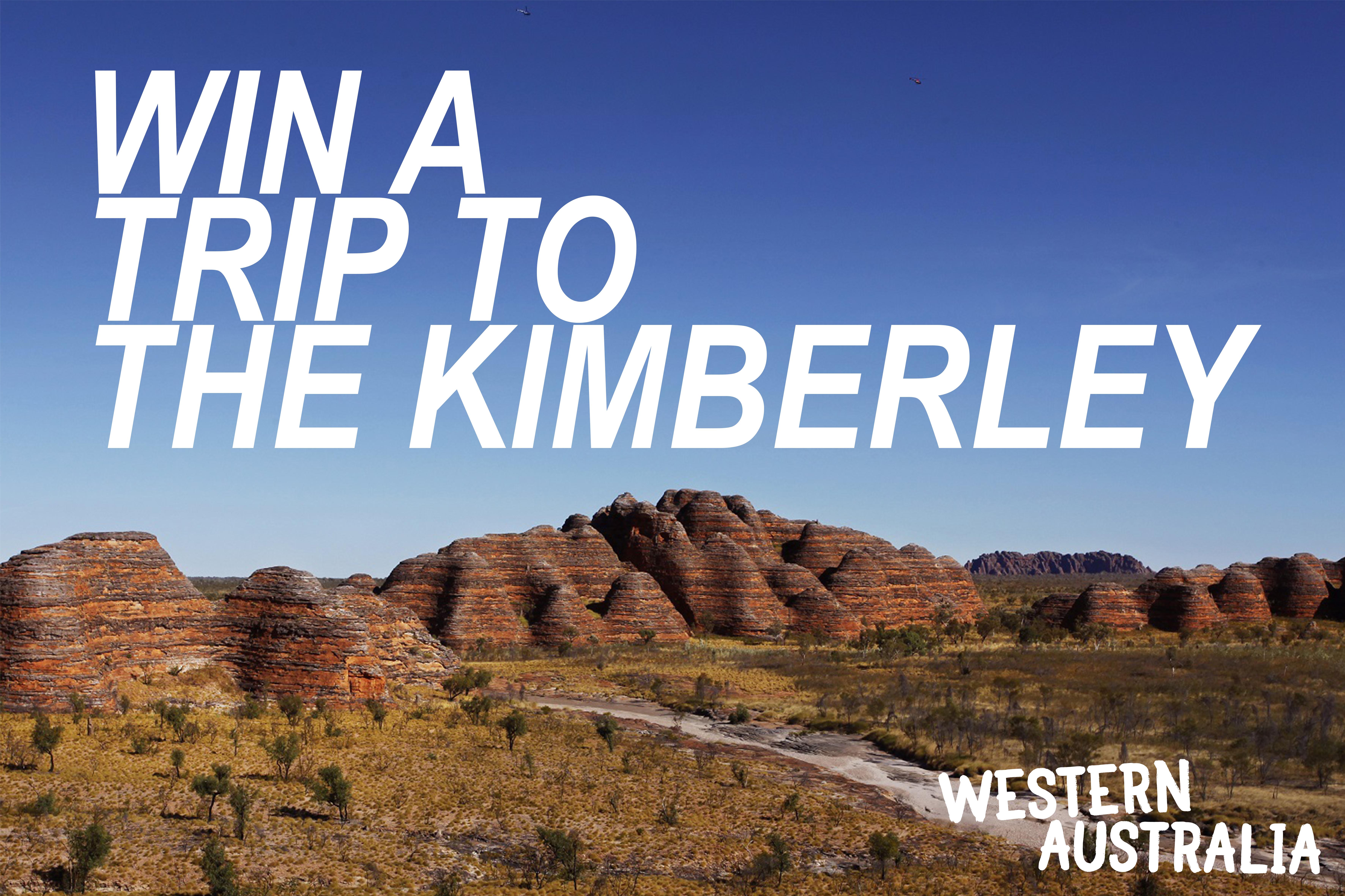 Win a trip to Kununurra in WA's Kimberley Region!