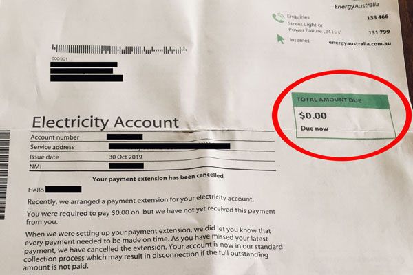 Article image for Victorian woman left baffled by 'absurd' power bill
