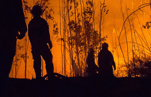 Article image for Calls for Australian Defence Force to be used again in bushfire battles