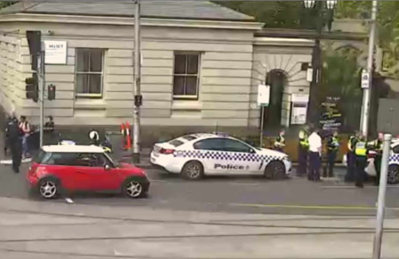 Article image for Man arrested, another suffers head injury, in ugly CBD road rage incident