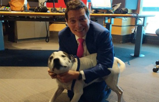 Article image for Michael Feinstein joins Denis in studio (and makes a furry friend!)