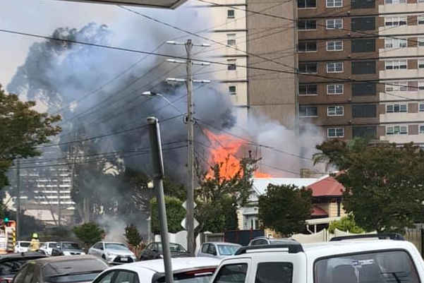 Article image for 'Massive' house fire breaks out in Footscray