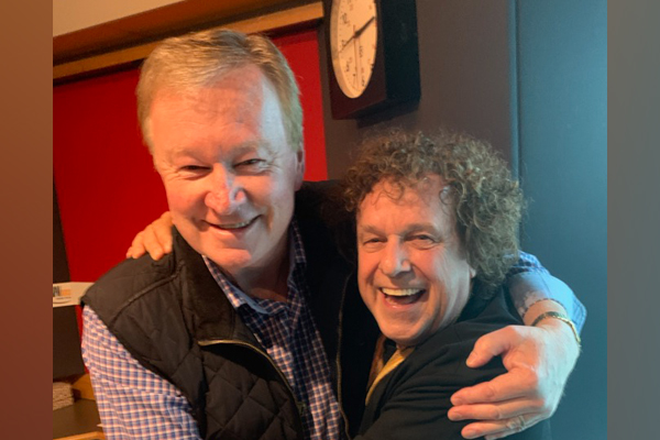 Article image for Leo Sayer joins Denis Walter in studio… and takes over!