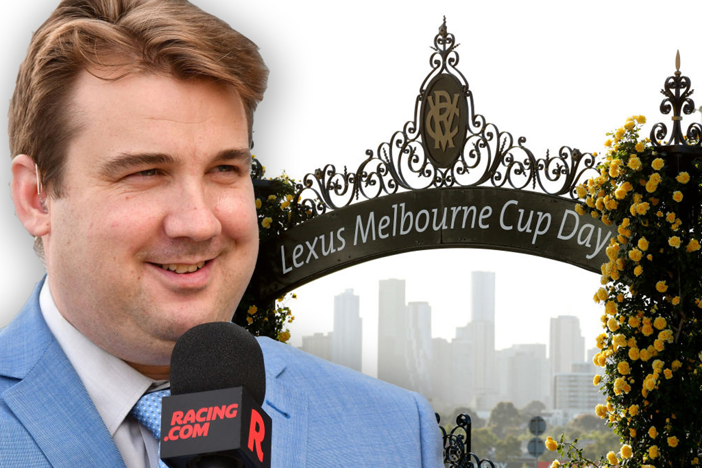 Article image for Why Melbourne Cup race caller Matt Hill says today's race will be 'tricky' to call