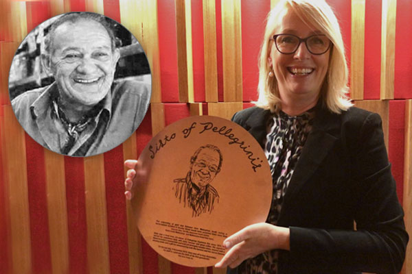 Article image for 'Have a coffee with Sisto': Melbourne's memorial for Sisto Malaspina revealed