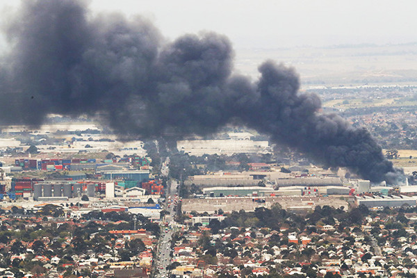 Article image for The 'ugly unanswered question' which remains after the toxic West Footscray fire