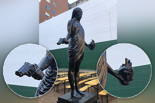Article image for Meaning behind mysterious new Chinatown statue revealed