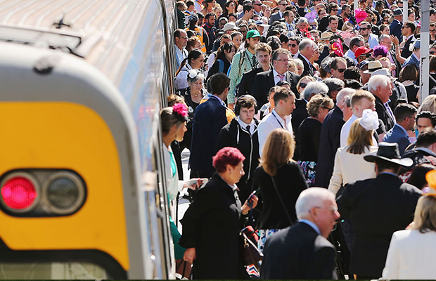 Article image for Cup Day trouble-makers be warned: Metro Trains take to the skies