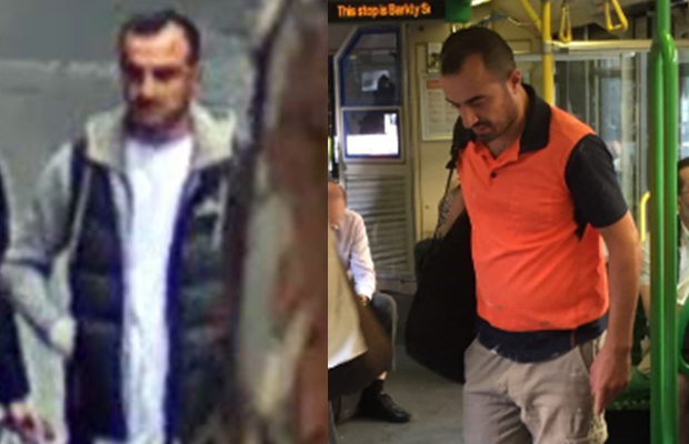 Article image for Man wanted over alleged sex assaults on Melbourne trams