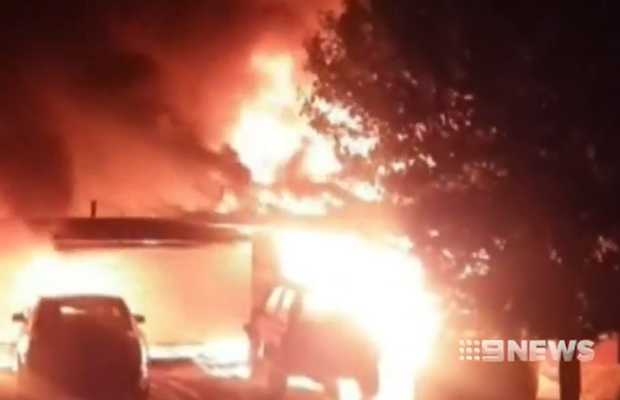 Article image for Wallan family overwhelmed by community response after devastating house fire