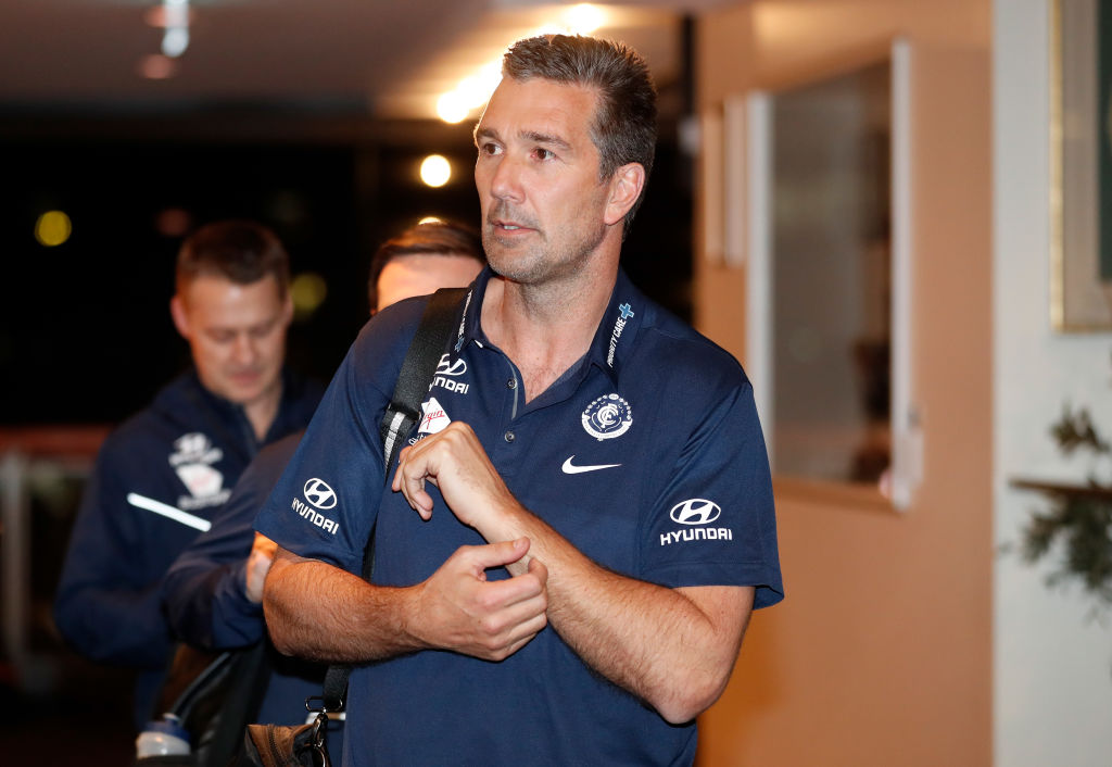 Article image for Carlton and Stephen Silvagni officially part ways