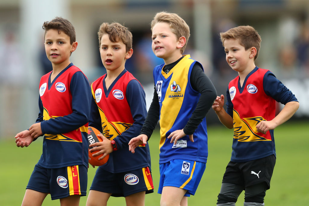 Article image for Bizarre plan to penalise junior footy teams for winning by too much