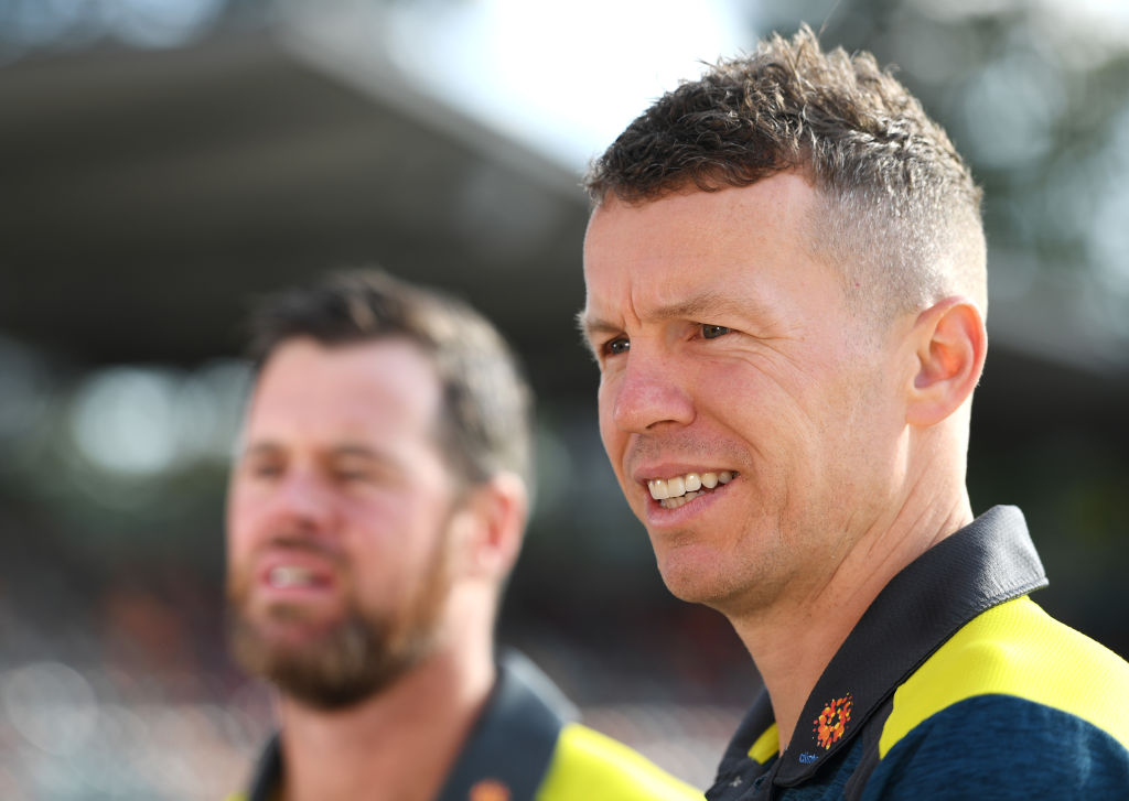 Article image for Peter Siddle on his Test squad recall, basketball and THOSE tweets from a former footballer!
