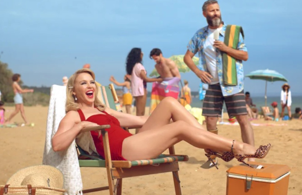 Article image for Kylie Minogue stars in new tourism campaign aimed at Brits!